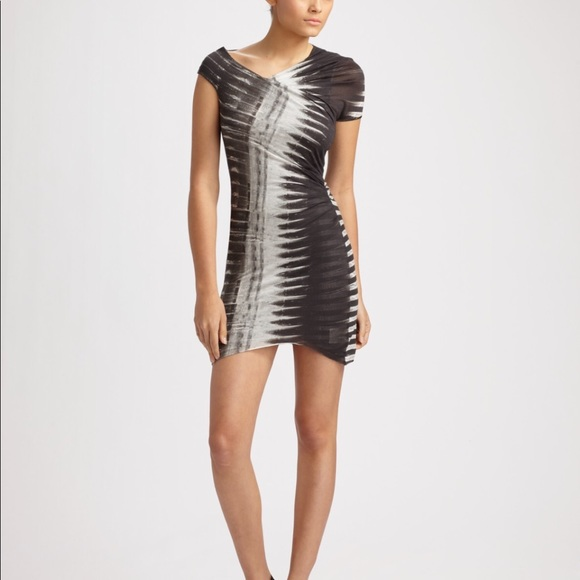 bd114e59a103 Helmut Lang Dresses & Skirts - HELMUT LANG FREQUENCY ASYMMETRIC MODAL DRESS